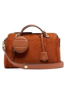 Fendi By The Way suede shoulder bag