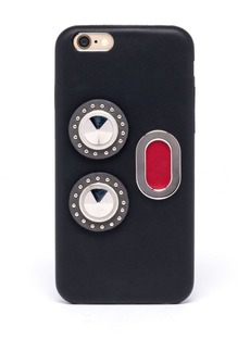 Fendi Calf Leather Phone Case