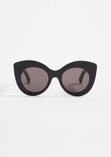 Fendi Cat Eye Frame Sunglasses