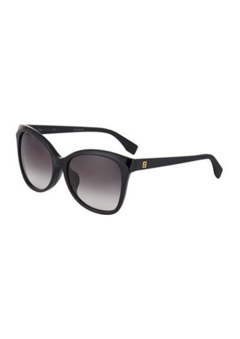 d97463d8956 Fendi Fendi Cat-Eye Plastic Sunglasses