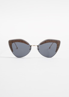 Fendi Cat Eye Sunglasses