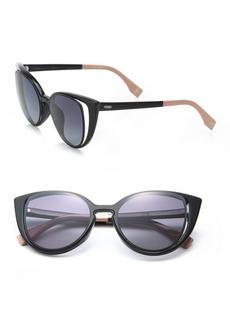 Fendi Cat's-Eye 51MM Sunglasses