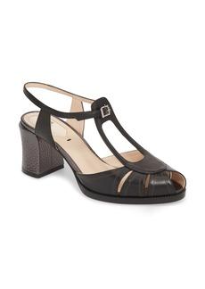 Fendi Chameleon Block Heel Sandal (Women)