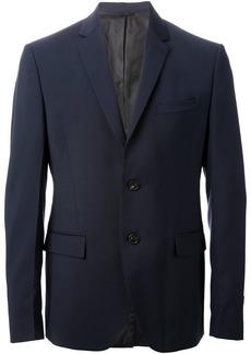 Fendi classic slim fit suit - Blue