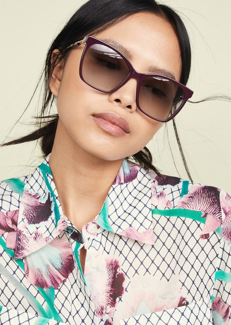 Fendi Classic Square Sunglasses