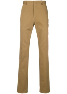 Fendi classic tapered trousers