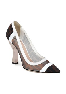 Fendi Colibri Logo Pump (Women)