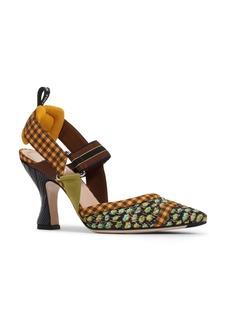 Fendi Colibri Pointed Toe Slingback Pump (Women)