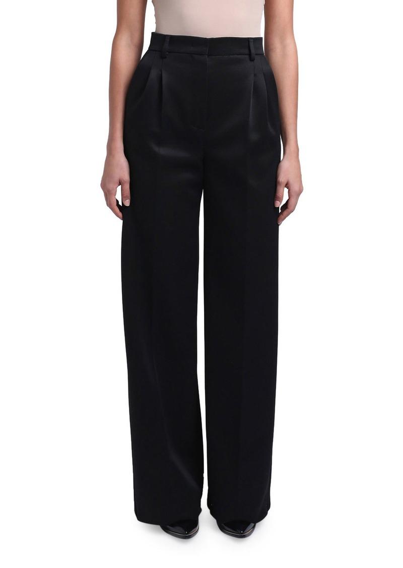Fendi Compact Jersey Wide-Leg Pants