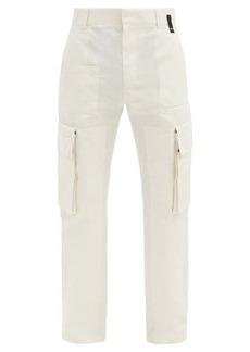 Fendi Cotton-blend cargo trousers