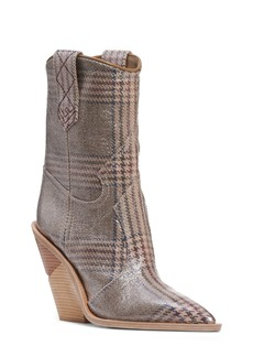 Fendi Cutwalk Plaid Bootie (Women)