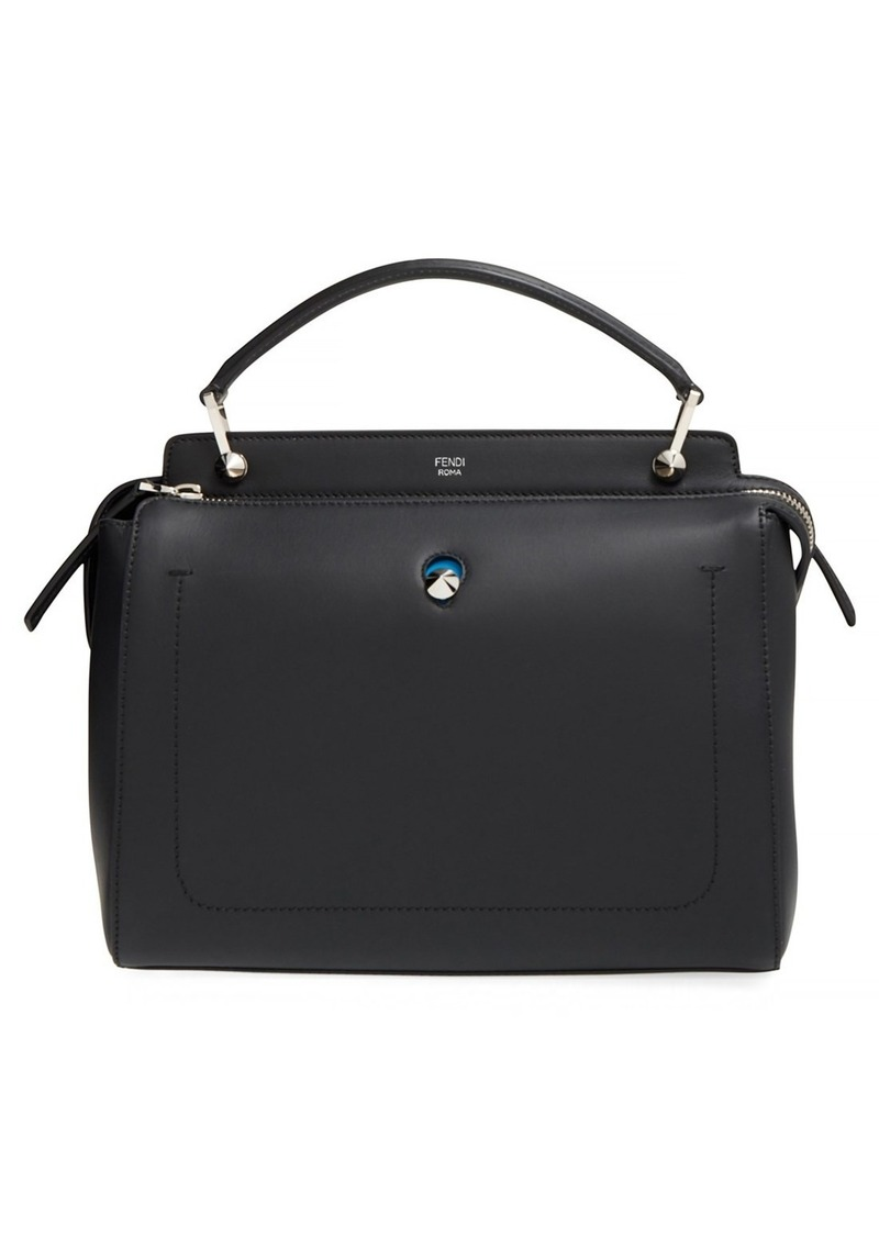 06320f4da7 Fendi Fendi 'DOTCOM' Leather Satchel | Handbags