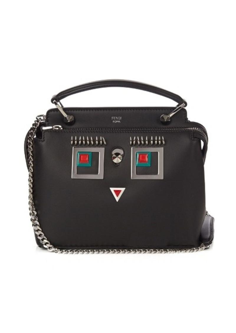 Fendi Fendi Dotcom small Hypnoteyes leather cross-body bag Now  1 55c71acc2d927