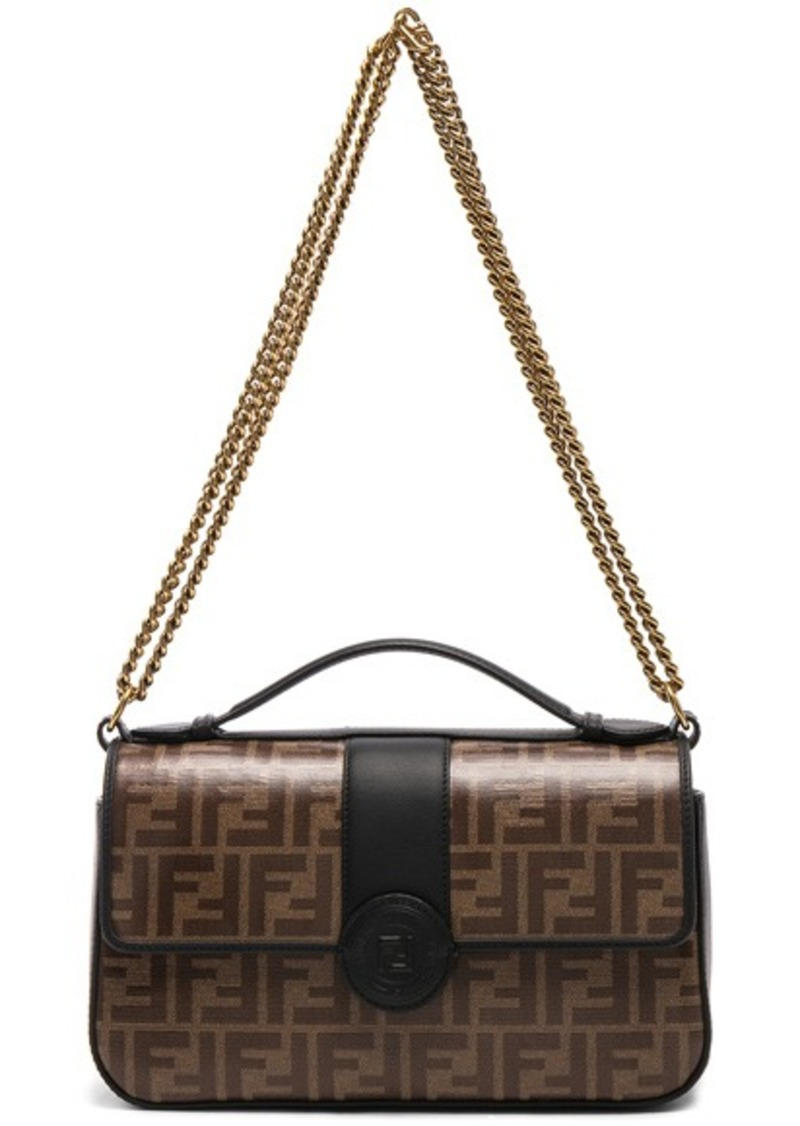 bf7e48e9665c Fendi Fendi Double F Shoulder Bag