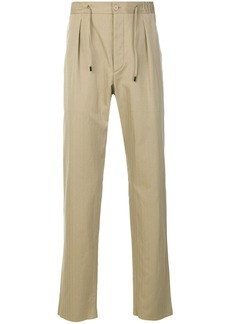 Fendi drawstring trousers