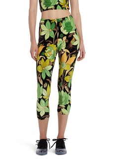 Fendi Dream Garden Chenille Crop Leggings