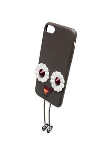 Fendi Embellished Leather iPhone 7 Case