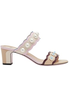 Fendi embellished sandals - Nude & Neutrals