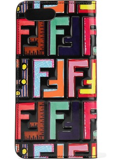 Fendi Embossed printed leather iPhone 7 Plus case