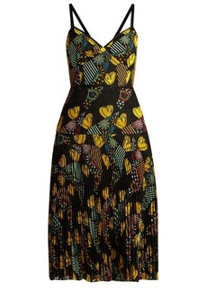 Fendi Embroidered lace dress