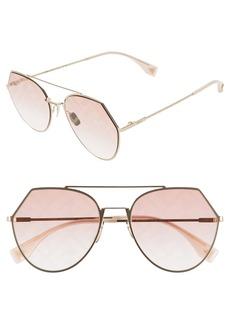 Fendi Eyeline 55mm Sunglasses