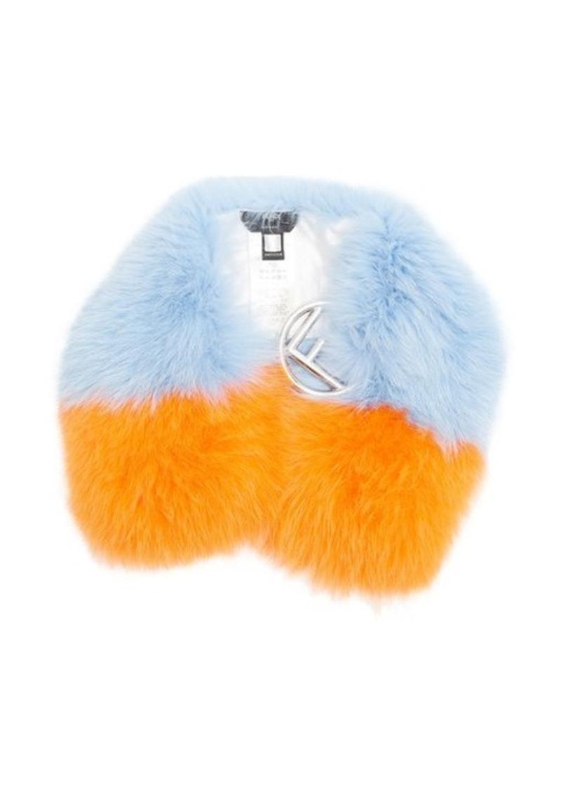 b00189b260 F-buckle fur scarf