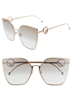 Fendi F is Fendi 63mm Oversized Sunglasses