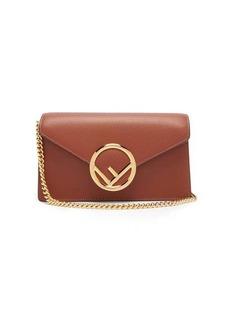 Fendi F-logo leather belt bag