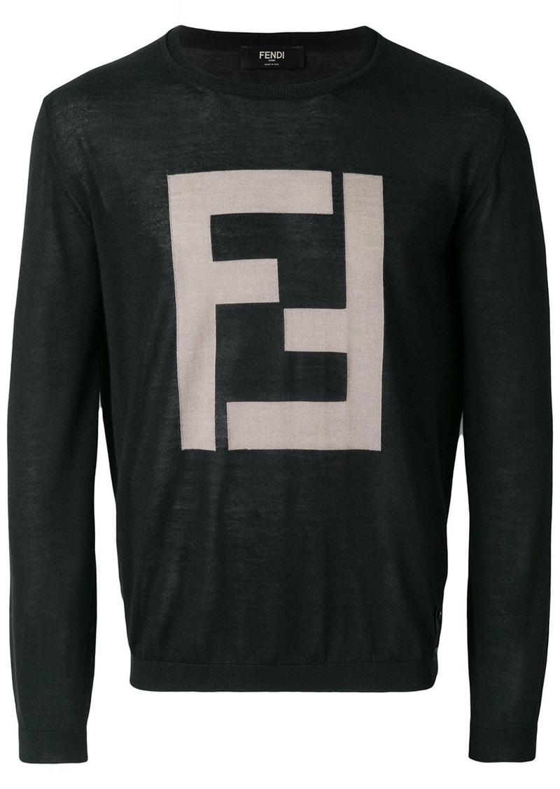 Fendi logo pullover