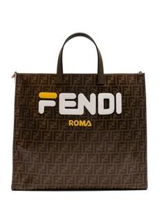 Fendi Fendi Mania Large Logo Tote