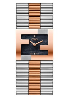 Fendi Fendimania Bracelet Watch, 24x20mm