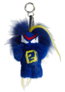 Fendi 'Fendirumi Bug-Kun' Genuine Fur Bag Charm