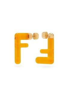 Fendi FF acetate earrings