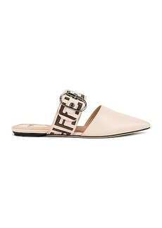 Fendi FF Buckle Flats