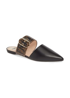 Fendi FF Buckle Mule (Women)