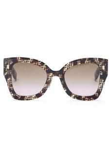 Fendi FF cat-eye acetate sunglasses