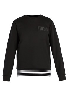 Fendi FF cotton-blend sweatshirt