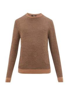Fendi FF-jacquard virgin-wool sweater