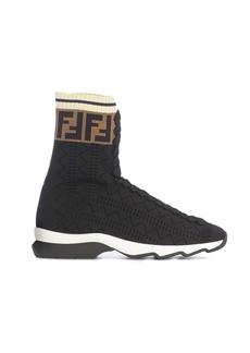 Fendi Ff Logo Bootie
