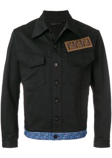 Fendi FF logo denim jacket