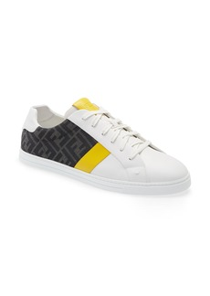 Fendi FF Logo Low Top Sneaker (Men)