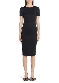 Fendi FF Logo Side Tape Jersey Dress