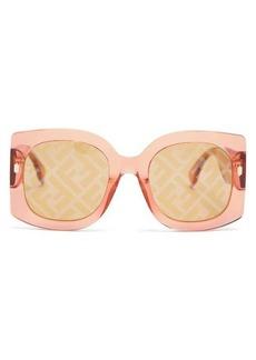 Fendi Fendi Roma FF square acetate sunglasses
