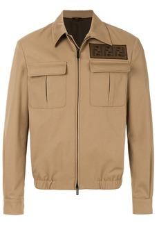 Fendi FF patch jacket