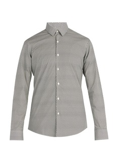 Fendi FF-print cotton shirt