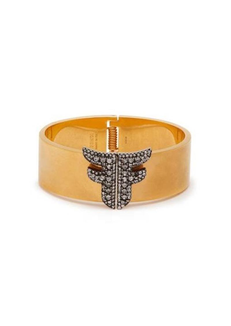 Fendi FFreedom crystal-embellished cuff