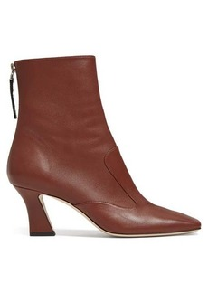 Fendi FFreedom square-toe leather ankle boots