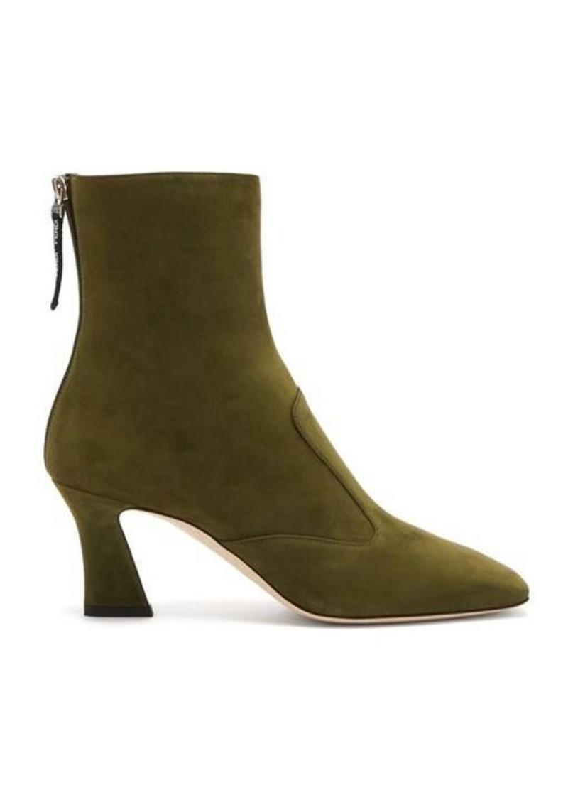 Fendi FFreedom square-toe suede boots