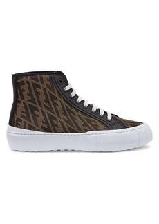 Fendi Force FF High-Top Sneakers