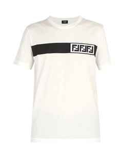Fendi Forever Fendi 3D logo-print T-shirt